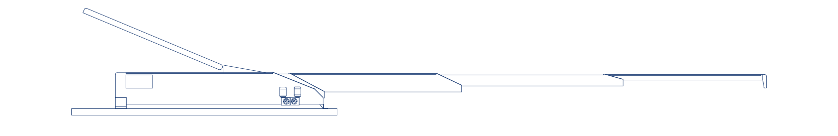 ski jump options for MTC conveyor