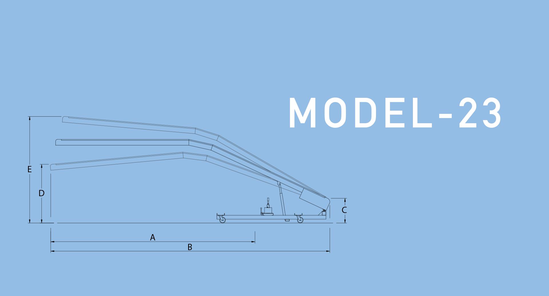 model 23 conveyor