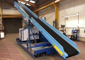 Newland WTC38 mobile belt conveyor