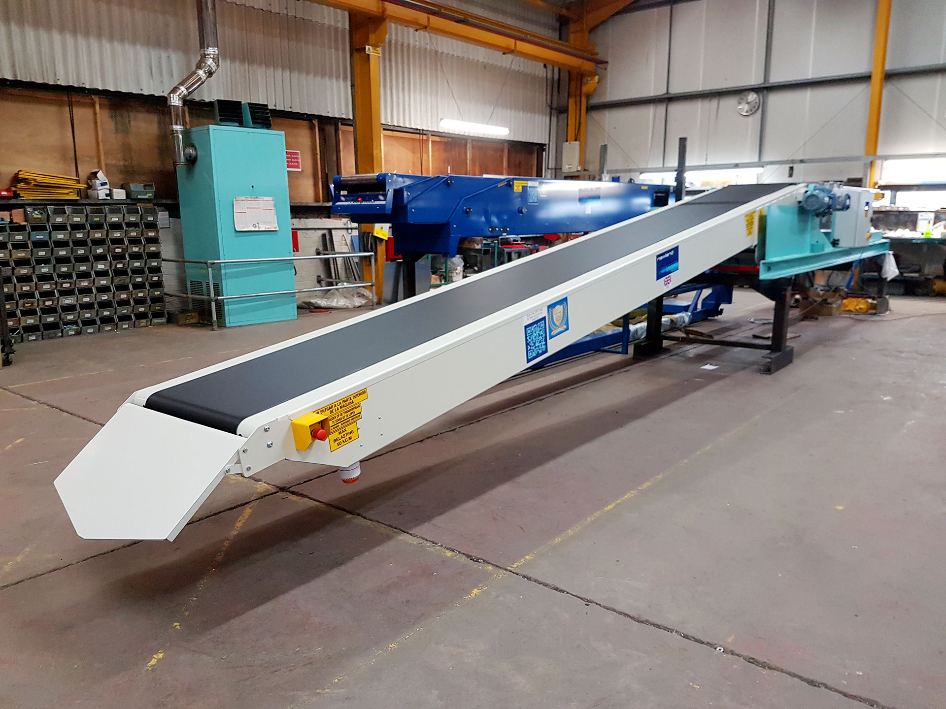We are delighted to be sending 2 of our conveyors to a flour mill in Mexico!
