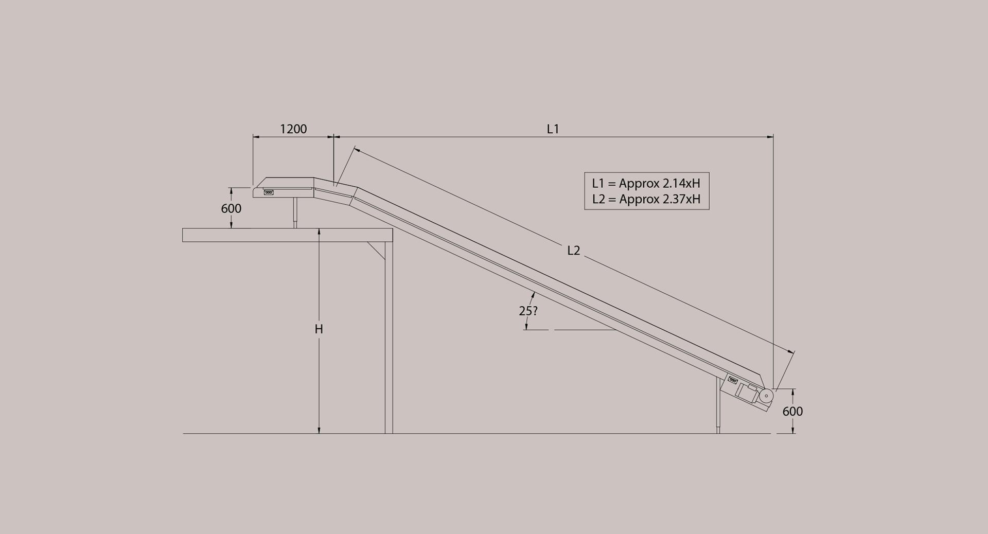floor to floor conveyor diagram
