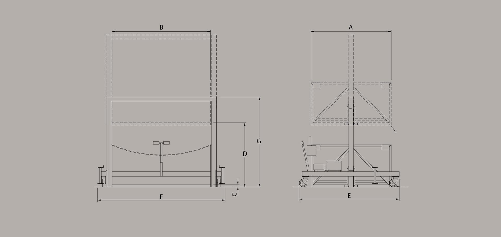 mobile loading diagram