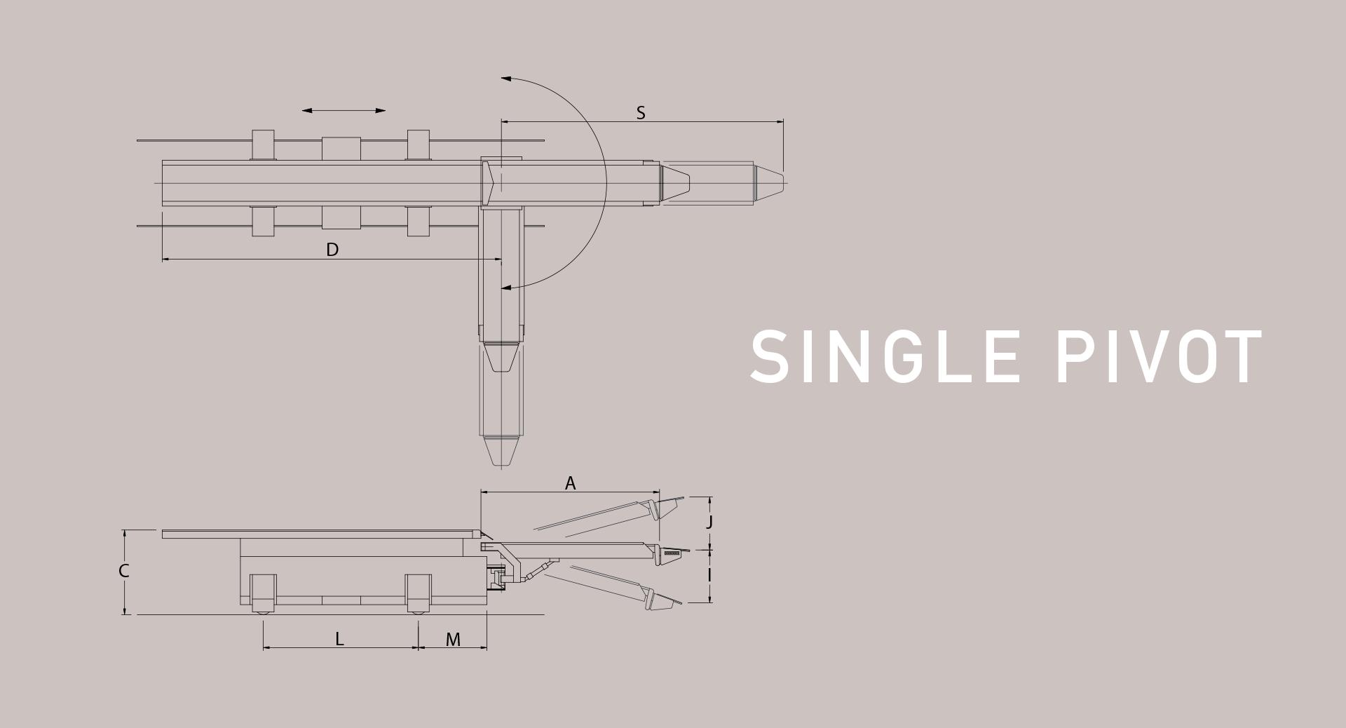 railcar single pivot diagram