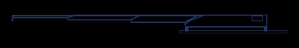 traversing chassis conveyor