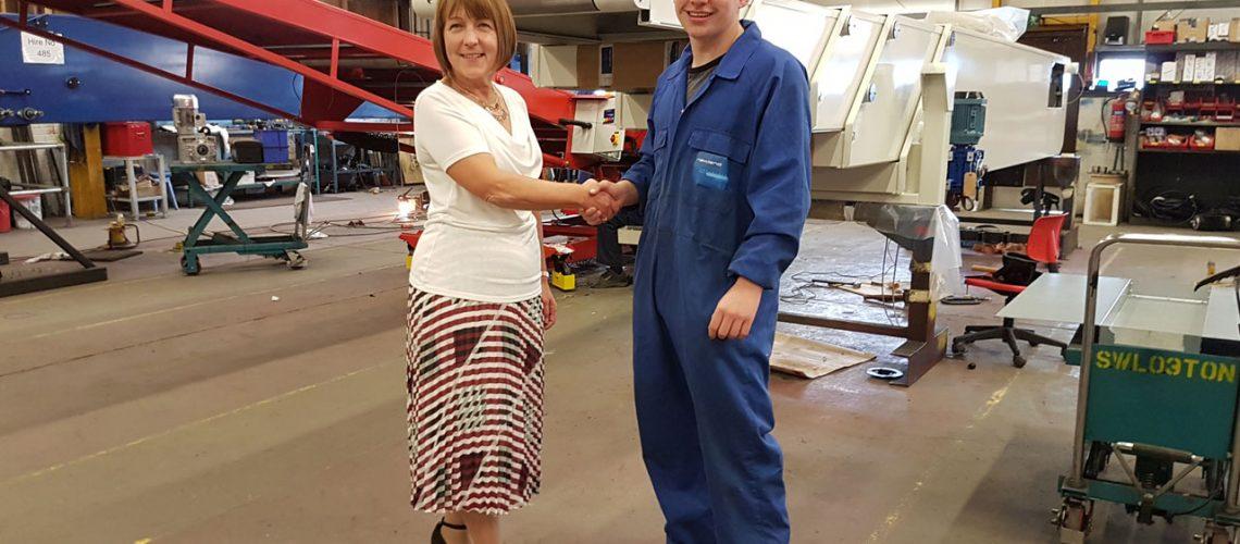 new apprentice at newland